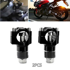 28MM Aluminum Motorcycle Riser HandleBar Heighten Handle Bar Mount Fixed Clamp