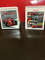 2009 FERRARI F1 WORLD CHAMPION CALENDAR FROM MILAN, PURCHASED IN ROME APRIL 2008