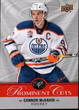 2017 National NSCC Upper Deck Prominent Cuts PC-4 Connor McDavid Oilers
