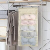 15Pockets Over The Door Shoe Rack Hanging Storage Holder Bag Closet Organizer US