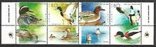 Israel Stamps MNH With Tab Ducks Of Israel Year 1989