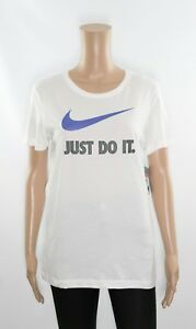 Nike JUST DO IT White Casual T-shirt