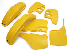 RM 250 1989 - 1992 EVO Motocross MX UFO Plastic Kit OEM colours Yellow