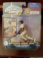 2001 Frank Thomas Chicago White Sox Baseball Starting Lineup 2