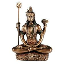 "SEATED SHIVA STATUE 3.25"" Small Hindu Indian God NEW Resin Figure Deity Mini"