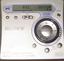 Sony MZ-R700PC MiniDisc Recorder Player  MD Walkman Silber. Gebraucht
