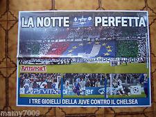 POSTER=La notte perfetta - JUventus-Chelsea 3-0 20/11/2012=TUTTOSPORT =CM 70X50
