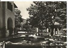 160500 CUNEO ROCCAFORTE MONDOVÌ Fraz. LURISIA TERME - FONTANA Cartolina FOTOGR.