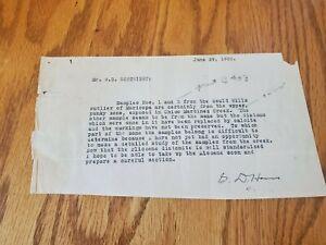 1932 type writer paper about California terran