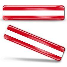 3D Gel Aufkleber Österreich Österreichisch Fahne Flagge Austria Flag Stickers