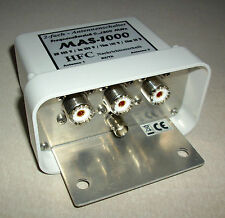 2-fach Antennenschalter MAS-1000 (0-1300 MHz) UHF-Norm
