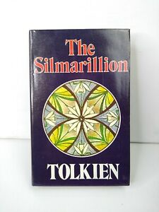 The Silmarillion Tolkien 5th impression 1977 Hardcover Dustjacket Map