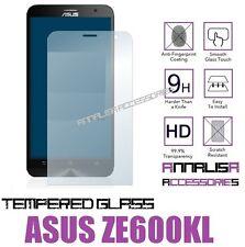 PELLICOLA VETRO TEMPERATO ASUS ZENFONE 2 LASER ZE600KL TEMPERED GLASS PROTEZIONE
