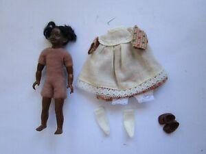 1:12 scale Heidi Ott undressed dollhouse 4 inch girl doll +  clothes set
