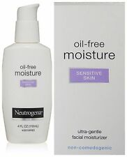 4PK Facial Moisturizer Oil-Free Sensitive Skin  Neutrogena 4 oz. Softer Smoother