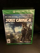 Just Cause 4 Day One Edition Xbox One NEW & Sealed Canada Microsoft 4K Ultra HD