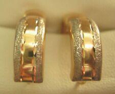 9ct GOLD  HUGGIE  EARRINGS  NEW