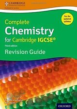Complete Chemistry for Cambridge IGCSE Revision Guide (Third (PB) 0198308736