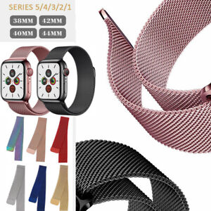 For Apple Watch iWatch Series 1 2 3 4 5 6 44/40/42/38mm replacement Band Strap