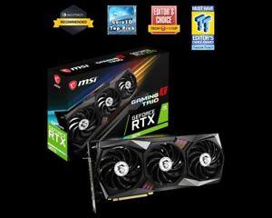 MSI GeForce RTX 3070 GAMING X TRIO 8GB GDDR6 Graphics Card