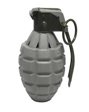 Toy GRAY Pineapple Hand Grenade Sound Effects Ticking/Explosions - 1 Piece