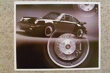 1986 Porsche Carrera Coupe Showroom Advertising Sales Poster RARE!! 17x13 L@@K