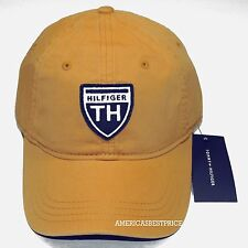 TOMMY HILFIGER NEW MENS BASEBALL CAP/HAT YELLOW BLUE NAVY BEIGE NICE CAPS