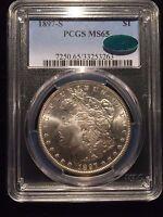 1897 S Morgan Silver Dollar PCGS MS65 CAC Uncirculated BU U.S. Coin S$1 UPGRADE!