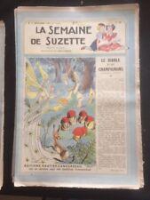 LA SEMAINE DE SUZETTE N°50 du 11/12/1947 - LE DIABLE ET LES CHAMPIGNONS