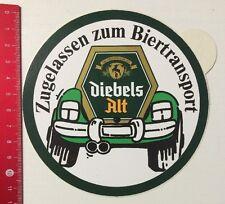 Aufkleber/Sticker: Diebels Alt - Zugelassen Zum Biertransport (06051659)