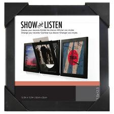 Pinnacle : Show & Listen Vinyl Record Frame - Black