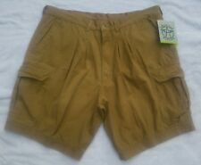 NEW NWT AMERICAN WEEKEND Men's Mustard Brown Casual Shorts Size 40 X 9.5 (True)