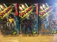 SPAWN Series 6 Ultra-Action Figures - Complete Series Sold Together New in Box