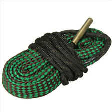 Bore Rope Cleaning Snake 22 Cal 5.56mm 223 Calibre Hunting Barrel Cleaner Green