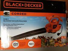 "Black+Decker 11 Amp Compact 3-in-1 Corded Blower/Vacuum/Mulcher (Bv2900) â""¢"