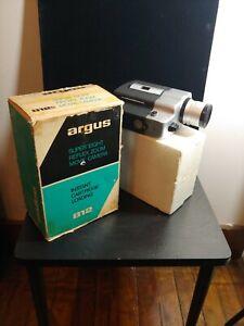 Argus Super Eight 8 MM Film Movie Camera Vintage 812 Reflex Zoom