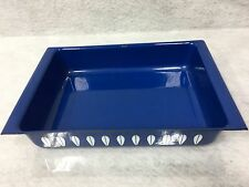 VTG CATHRINEHOLM NORWAY BLUE LOTUS ENAMEL LASAGNA BAKING PAN