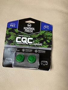 Kontrol Freek FPS Freek CQC Signature Thumb Grips For PS4 Green New
