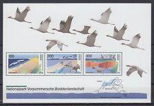 Germany Bund BRD 1996 ** Bl.36 Vögel Birds Naturpark Nature park
