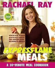 Rachael Ray Express Lane Meals 30 Minute Cookbook Recipes Paperback