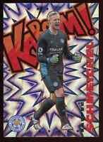 Kasper Schmeichel - 2020-2021 Panini Prizm Premier League - KABOOM SSP