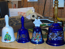 4 Ceramic bells of all size and shape