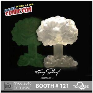 Kenny Scharf Glow In The Dark Bombzy Toyqube Ltd Ed 2016 Comic Con exclusive