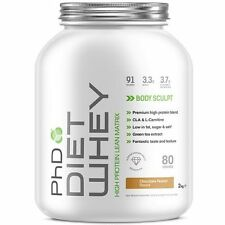 PHD Nutrition Diet Whey Protein 2kg Lean Degree 100 Caps Last 24 Strawberry Delight 90 Capsules Non Stimulant