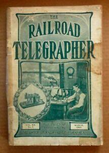 The Radio Telegrapher Vintage/Antique Magazine:  March 1903
