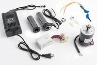 150W Electric Motor w Sprocket+Speed Control+Twist Throttle+Key Lock & Charger