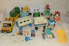 Playmobil PLAY BIG  Konvolut Fahrzeug und  Baustelle USW.