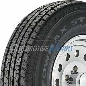 New ST205/75-15 Towmax STR II 8 Ply D Load Radial Trailer Tires 2057515 2