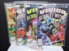 Marvel 1982 Vision & Scarlet Witch 1-4 Complete Comic Set