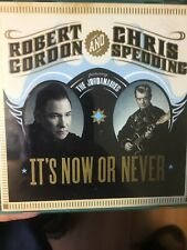 ROBERT GORDON and CHRIS SPEDDING It's Now Or Never CD(Feat The JORDANAIRES 2007)